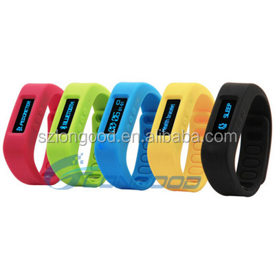 Healthy Bracelet Silicone Wristband Smart Hand Ring Bluetooth 4.0 Pedometer Wearable Electronic