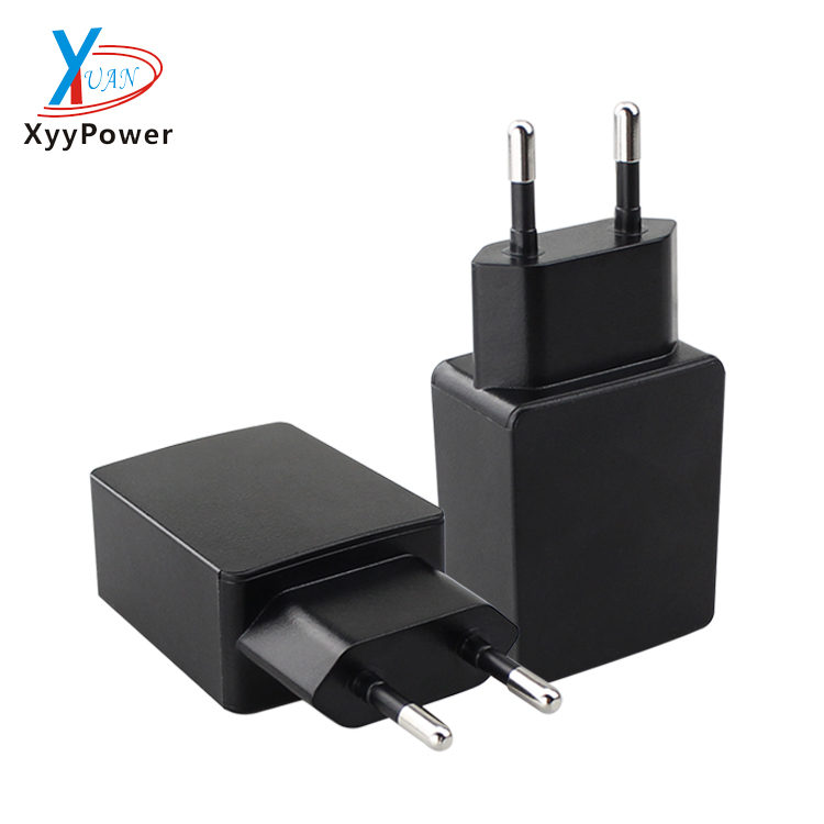 Wholesale portable mini 5v 2a micro usb wall charger single usb port EU plug home wall charger