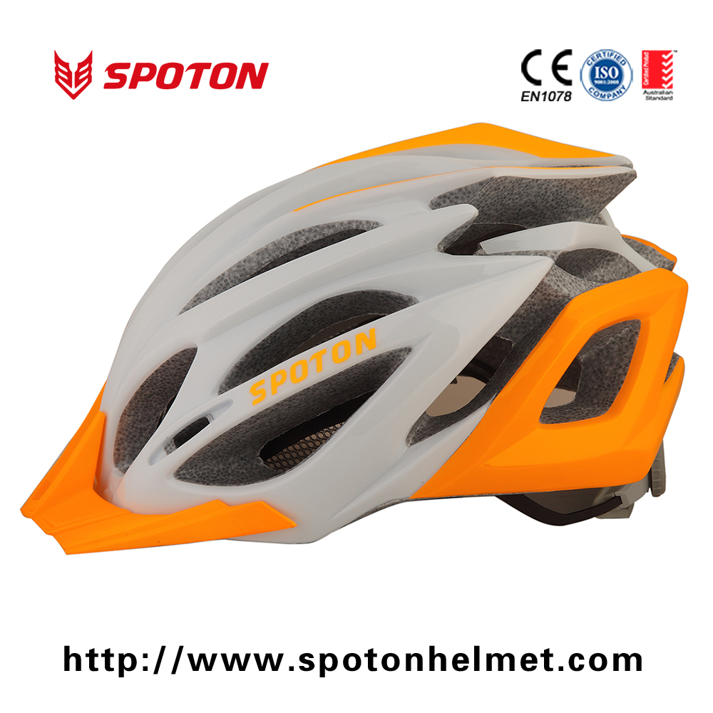 Hot sale 23 Vents Safety Fashionable Bicycle Helmet with Visor