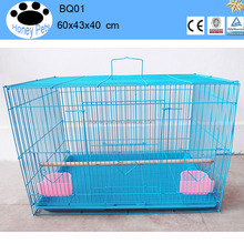 wholesale double pvc bird breeding cages