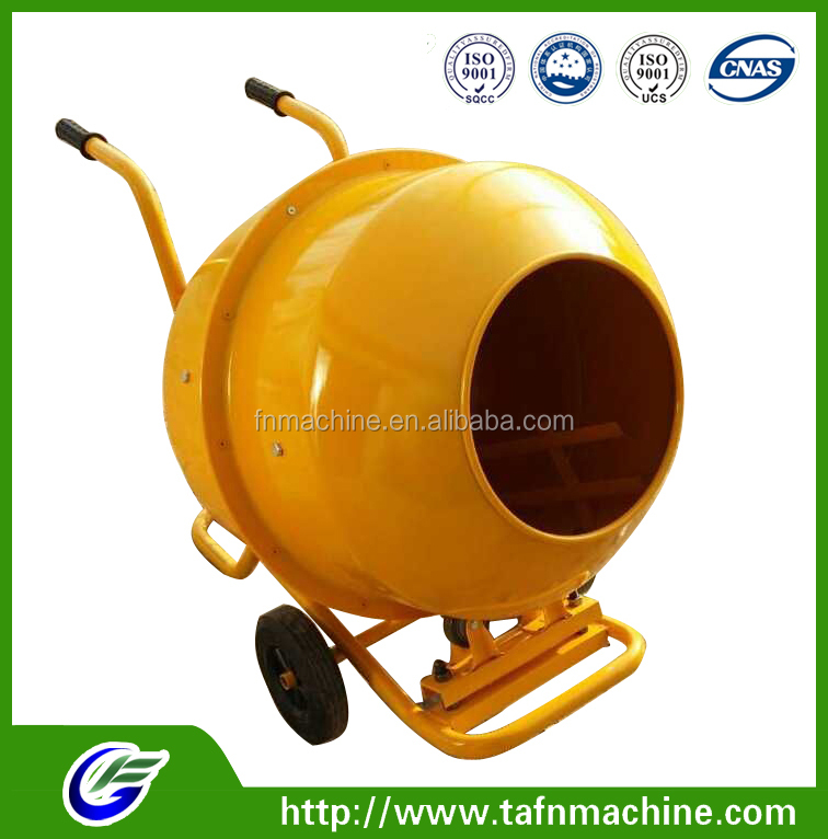 Dry manual cement mixer