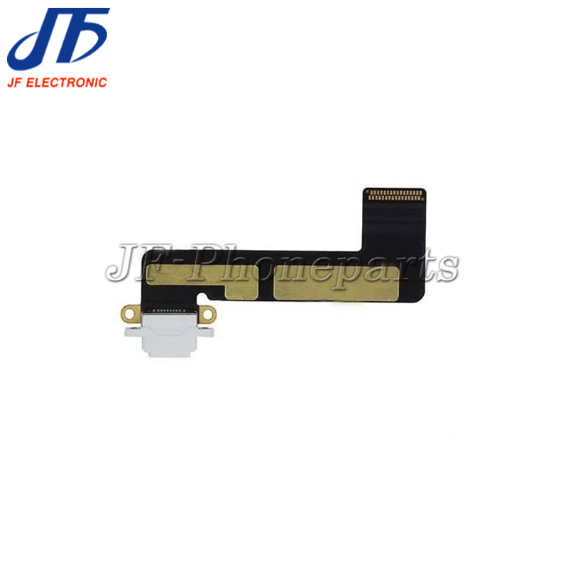 jfphoneparts For iPad mini 1 Dock Connector Charging Port Flex Cable black and white