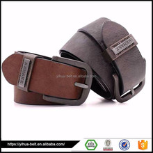 Fashion Waist Leather Belts for Man Famous Brand Designer Metal Buckle PU Leather Men Casual Belts