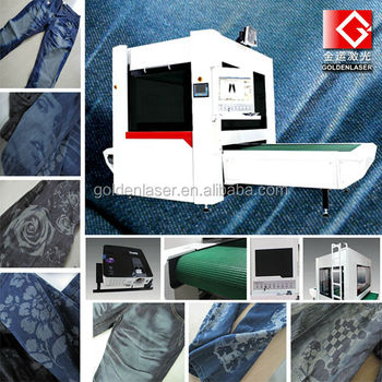 Jeans Laser Engraving System for Industrial Laundry