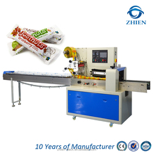 Pillow bag packing machine for fruit, grain and nut bar