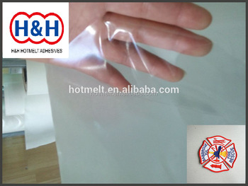 PO Hot Melt Adhesive Film for Textile Fabric/Embroidery Patches