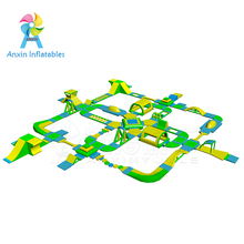 Floating water park games/Inflatable Floating Aqua Sport Park Construction