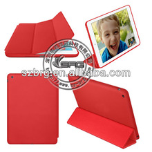 for ipad air smart leather case, for ipad air smart cover case