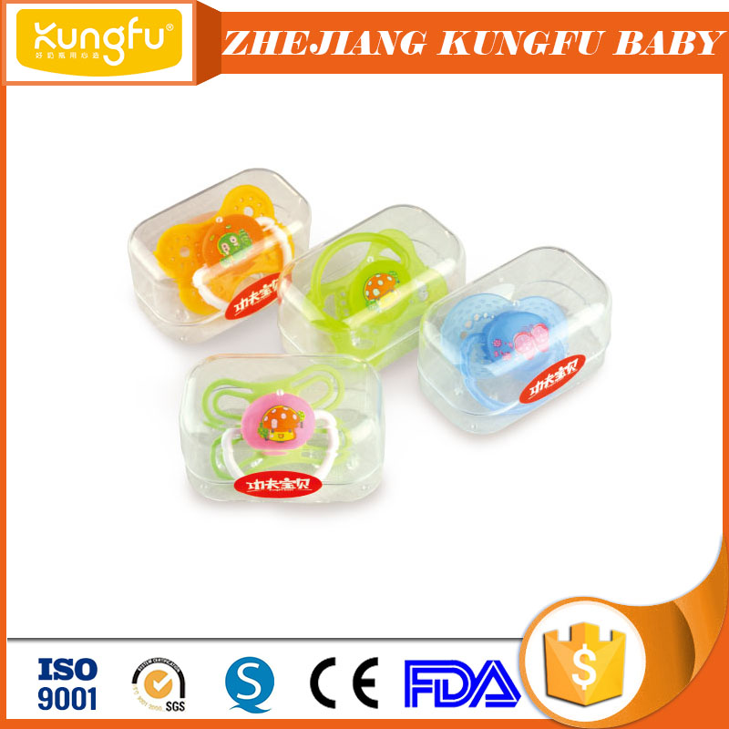 Durable baby feeding supplies BPA free plastic bottles for babies feeder flat teat baby pacifier