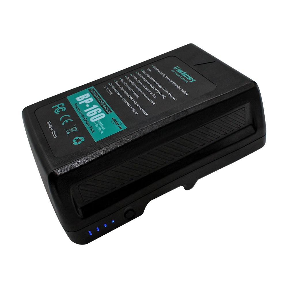 High Quality 190Wh 160Wh 150Wh 130Wh V-Mount Battery for SONY Camera, Cheap 14.8V V-Lock Battery for LED Video Light