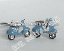 Sky Blue Electric Car Cufflinks
