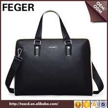 Europe Fashion Original Men Leather Handbags Briefcase Bag Made In China