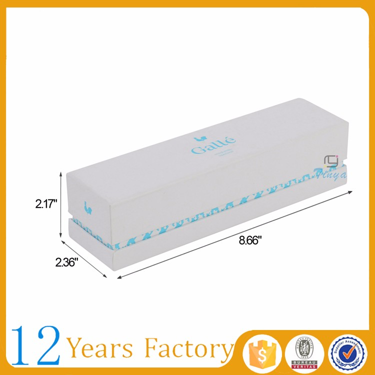 rectangle fancy white macarons packing box