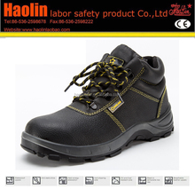 HL-A002 liberty black steel toe safety shoes price
