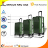 Hot sale high quality PC trolley luggage with aluminum frame
