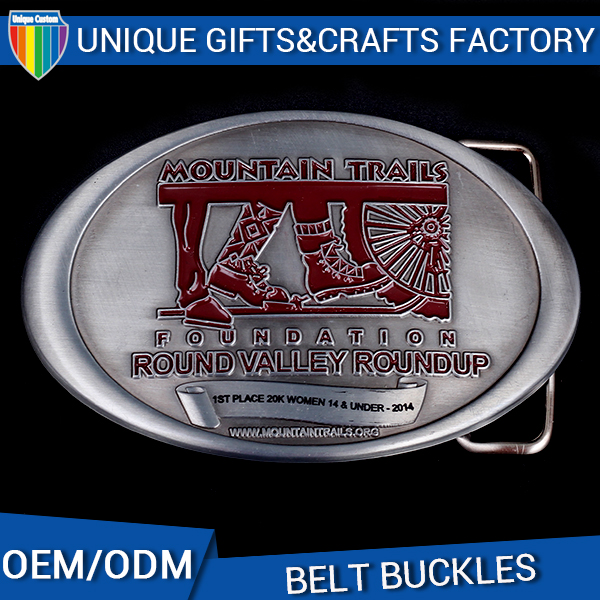 Fashion style Cheap custom large belt buckle