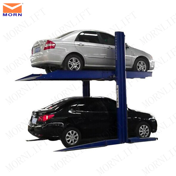 car lift parking for 2 cars