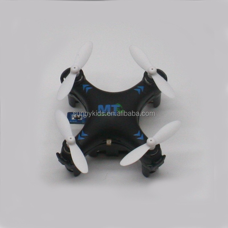 2.4G RC Newest mini drone remote control quadcopter only 3CM