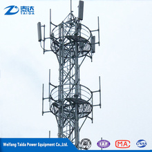 2017 Hot New Products Hot-dip Galvanized Communication Steel Tower