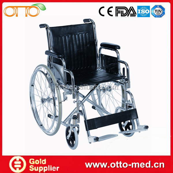 Steel used manual wheelchair