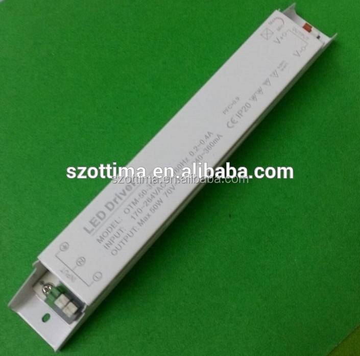 IP20 power supply for strip non-waterproof led driver 50W 50-100v led driver 500ma