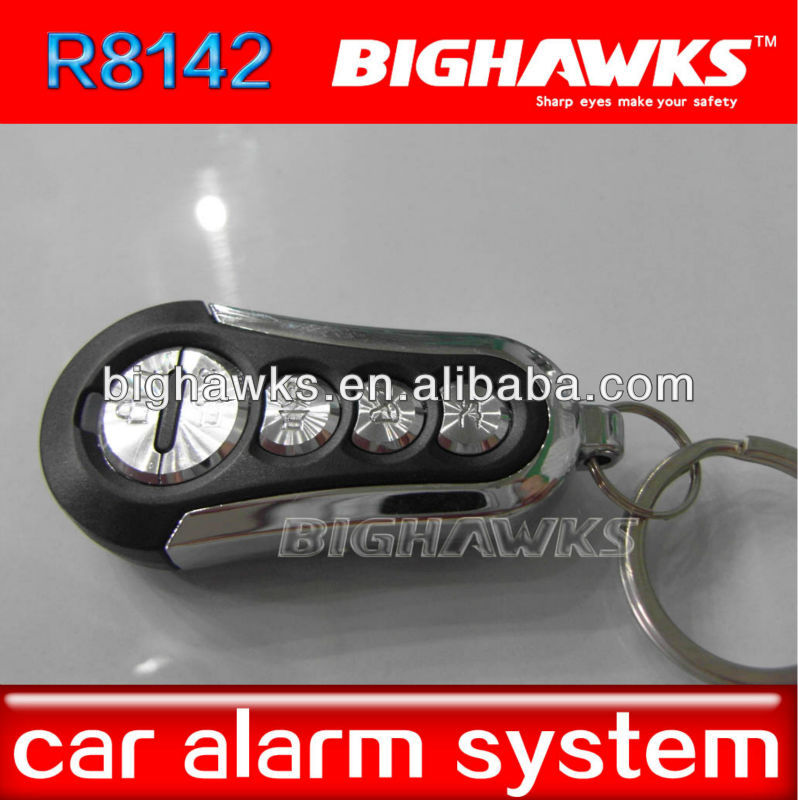 new smart key 2 button BIGHAWKS CA702-8142 remote control one way car alarm security system