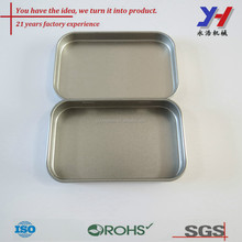 OEM ODM customized Aluminum flat tin box for candy