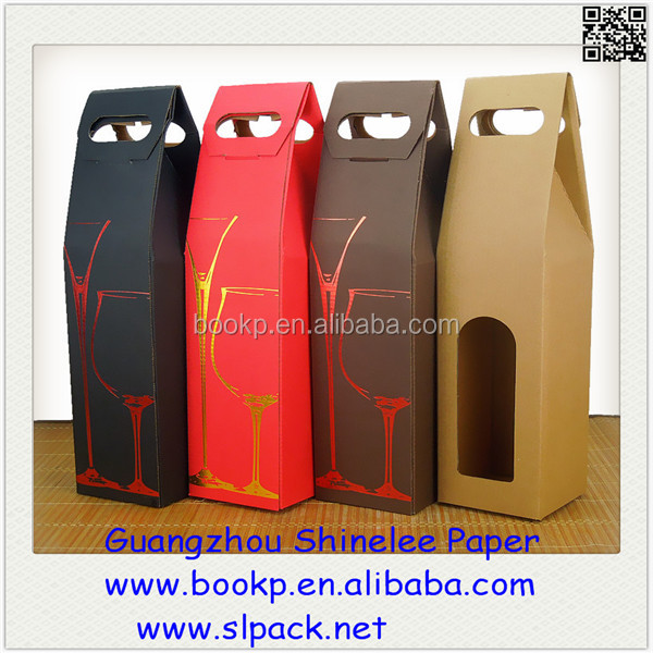 factory sale recycable cheap gift wine bags