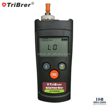 Tribrer Brand Optical Power Meter APM80, Mini Fiber Optic Laser Source Power Meter