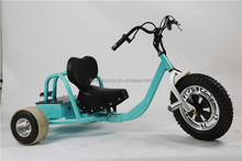 500W 3 wheel electric drift scooter drifting racing scooters for sale