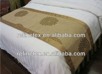 Used hotel bed sheets, 100% cotton luxury hotel Sateen bed linen/bed shee