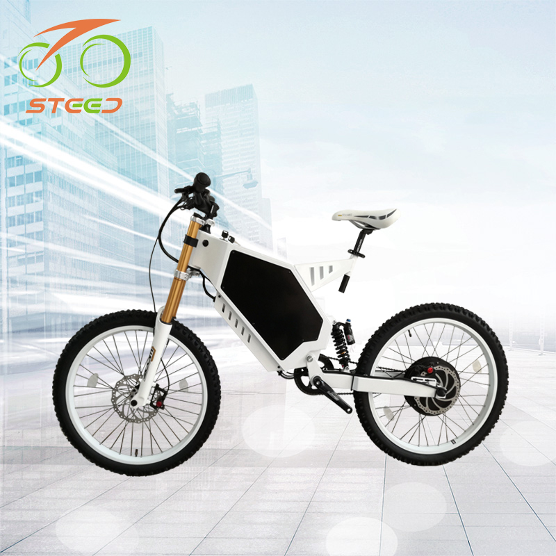 Fashion mountain stealth bomber electric bike 72v for adults