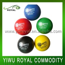 Eco-friendly Sports Polyurethane Foam Funny PU Stress Ball