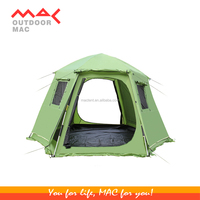 luxury camping tent 4-6 person famlily tent
