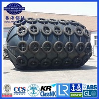 Rugged Boat rubber fender Offshore and port structure Yokohama type marine rubber fender