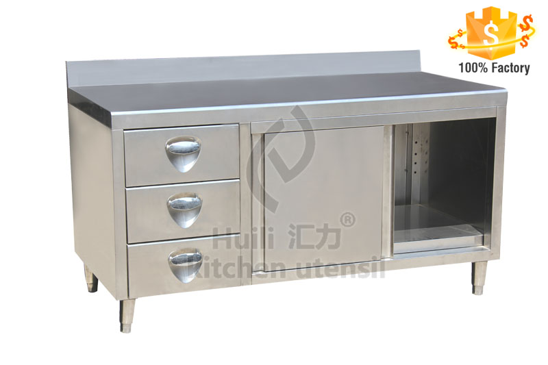 stainless steel single deck cabinet burger restaurant equipment cheap stainless steel kitchen cabinets - Single Kitchen Cabinet