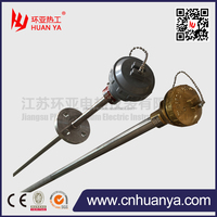 Withstand the highly erosive conditions K type CFB Boiler Thermocouple