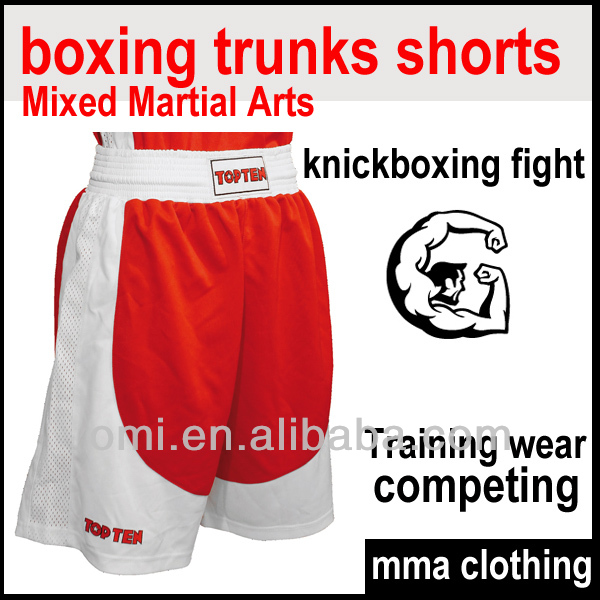 Custom made K1 Thai Boxing trunks shorts