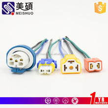Meishuo sm 2p connector with cables 22awg 2.54pitch