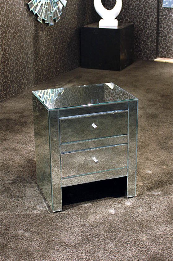 European <strong>Style</strong> Mirrored Coffee Table Convertible Coffee Table for Hotel