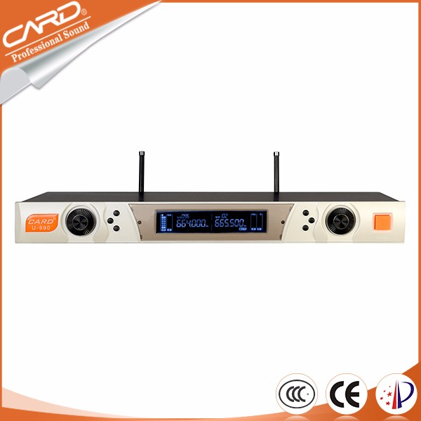 High configuration advanced technology digital wireless microphone