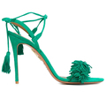 suede tassel ladies leather new design factory shoes and sandals