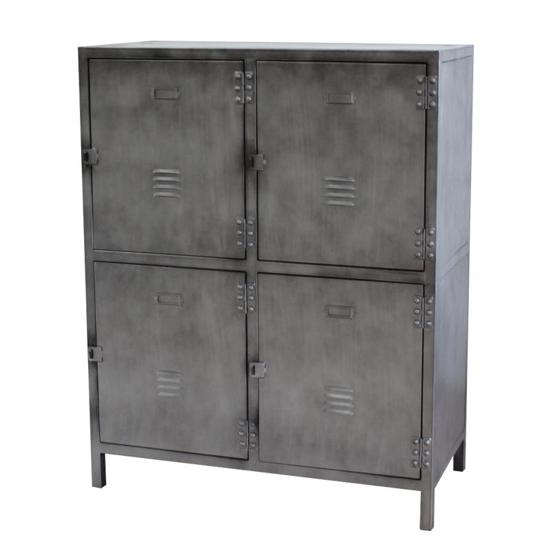 Vintage Metal Strong Storage