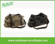 Large Fashionable Military Canvas Travel Duffel Bag