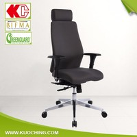 Top Grade Leather Headrest Adjustable Executive Chair/High Back Office Chair/Manager Chair