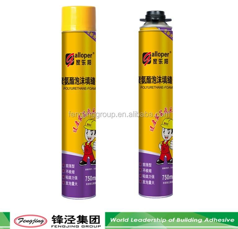 Fireproof Mortar Caulk : High viscosity g light yellow fireproof foam sealant