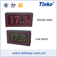 Large led display date-time,large date time display board,large screen temperatur humidity controller for HVAC system