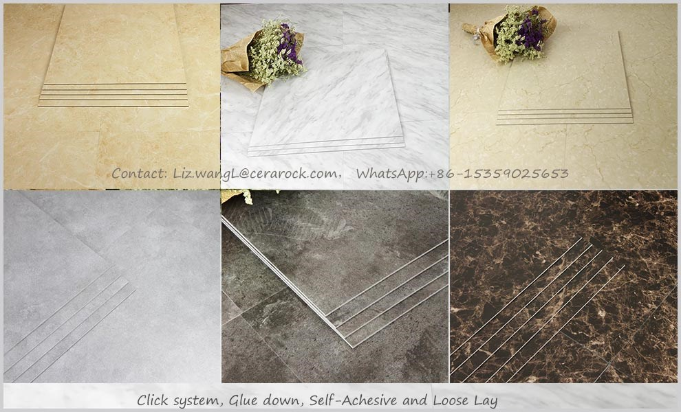 new design high quality click-modern luxurious viny plank