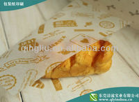 Wholesale wrapping paper for bread