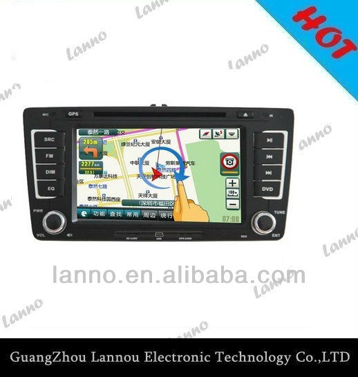car dvd gps for volkswagen Skoda-Octavia 2013